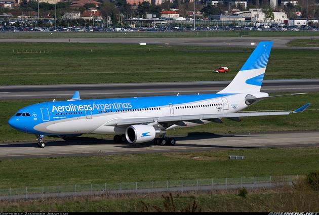 Un vuelo de Aerolíneas se desvió para salvar a un niño