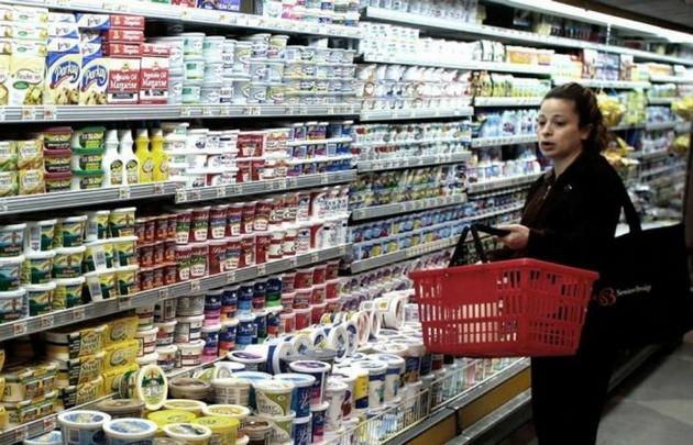 Cayeron las ventas en los supermercados.