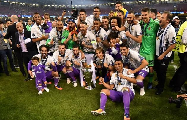 Real Madrid se coronó campeón de la Champions en Cardiff.