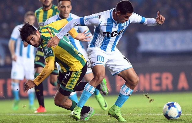 Igualaron 1 a 1 en Avellaneda con goles de Antonio Medina y de Lautaro Martínez.