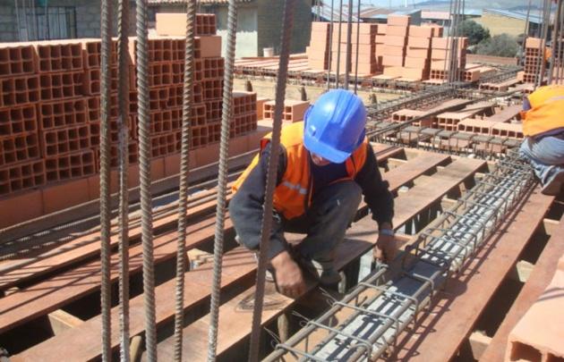 El costo de la construcción aumentó el 1,3% en mayo.