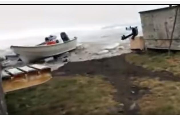 Un tsunami azotó a Groenlandia.
