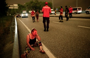 El incendio en Portugal dejó más de 60 muertos.