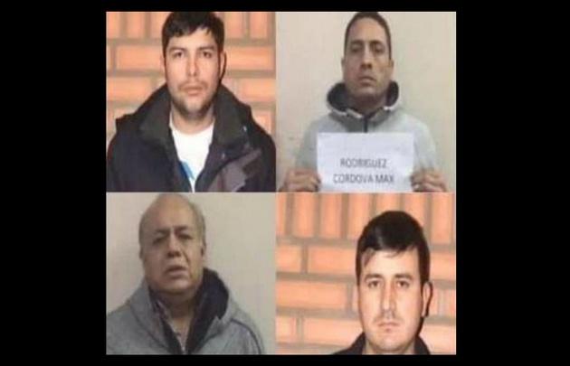 Los cuatro mexicanos detenidos con dos toneladas de cocaína .