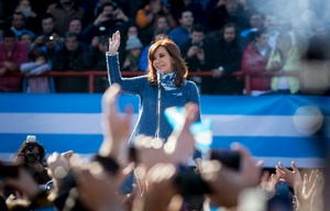 Acto de Cristina Fernández de Kirchner