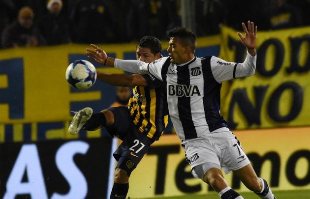 Talleres y Central igualaron 3-3 en Rosario.