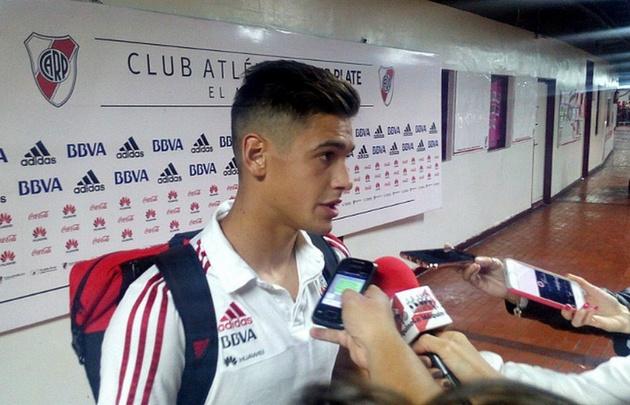 Por el momento, el defensor Lucas Martínez Quarta no será sancionado.