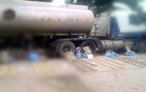 Escondieron más de 3 mil kilos de marihuana en un camión cisterna (Foto ilustrativa)