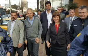 La ministra Patricia Bullrich llegó a Córdoba tras el importante secuestro de droga.
