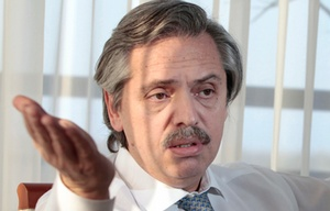 Alberto Fernández reveló que Cristina le dijo a Randazzo que será candidata.