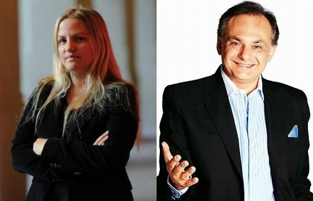 Carolina Píparo y Franco Bagnato.