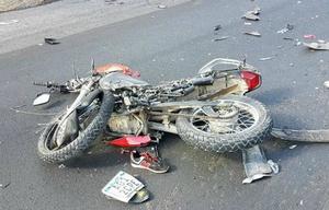 El accidente fue en la Ruta 38 en Villa del Lago (Foto: Carlos Paz al Día)
