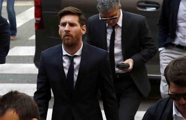Messi afronta otra denuncia por evasión fiscal.