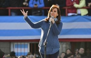 Cristina en el acto de lanzamiento de Unidad Ciudadana el pasado 20 de junio.