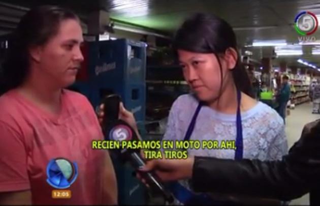 Una víctima de un atentado recibió amenazas en plena entrevista televisiva.