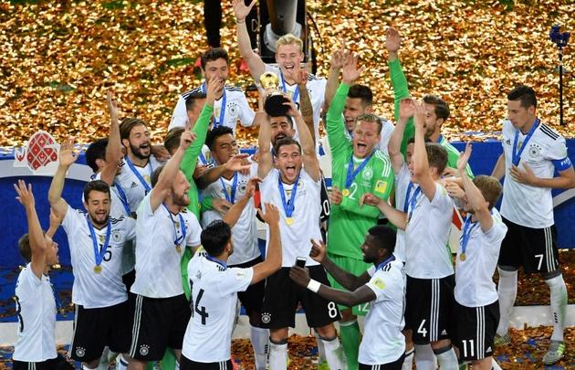 Alemania se consagró campeón de la Copa Confederaciones.