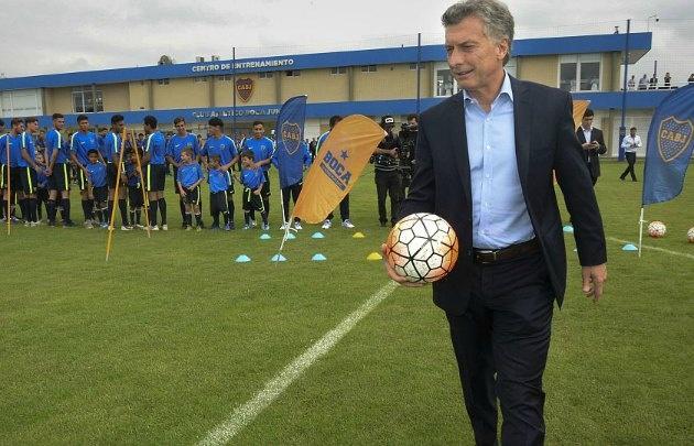 Macri habló del fútbol argentino con Cadena 3 (Foto: Ámbito)