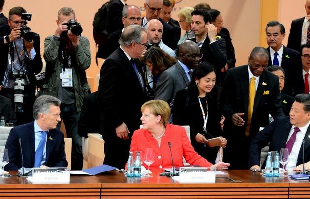 Macri participó de las sesiones plenarias de la Cumbre del G20.