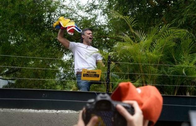 Leopoldo López ratificó su compromiso con la lucha por liberar a Venezuela