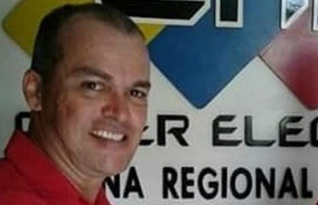 """Rivas Aranguren estaba postulado al """"Sector Motorizado"""" por la ANC."""