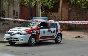 El crimen se produjo en barrio Parque Liceo Tercera Sección.