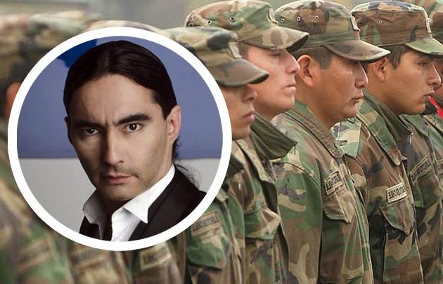 Daniel Agostini se mostró a favor del Servicio Militar obligatorio.