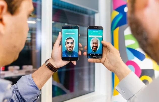 Con una selfie se podrá abrir ahora una caja de ahorro
