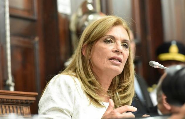 Laura Montero, vicegobernadora de Mendoza.