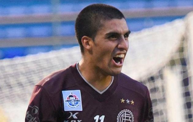 Cristian Ezequiel Ramírez surgió de las inferiores de Lanús.