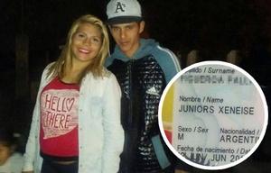 Una pareja fanática de Boca llamó a su bebé ''Juniors Xeneise''.