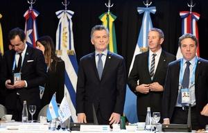 Macri en la cumbre del Mercosur