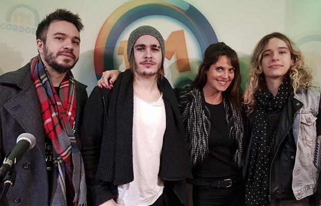 Los hermanos Sardelli hicieron un acústico en el programa de Flavia Irós