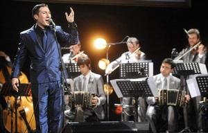 Ariel Ardit, figura central de la noche inaugural del Festival Nacional de Tango.