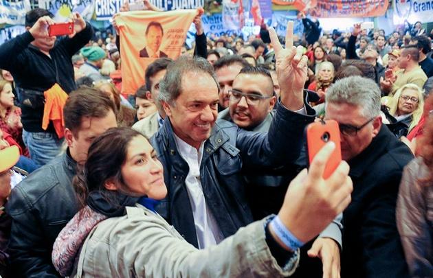 Daniel Scioli, candidato a diputado de Unidad Ciudadana