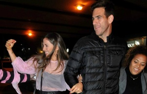 Jimena Barón y Del Potro en una salida juntos (Foto: Movil Press).
