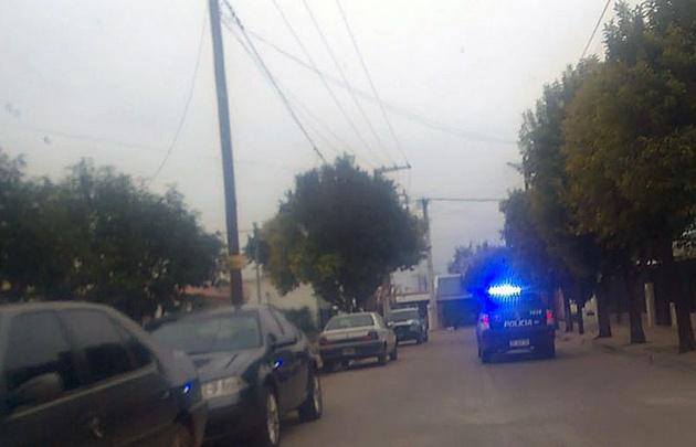 El hecho se produjo en calle Zapata al 4.600.