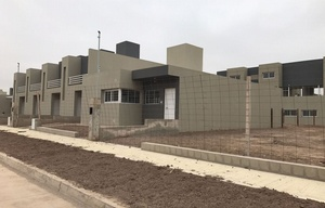 Las nuevas casas ProCreAr en barrio Liceo de la capital cordobesa.