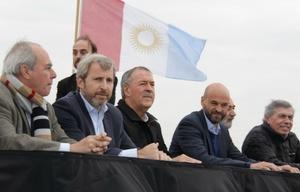 Los ministros Dietrich y Frigerio participaron de la inauguración.