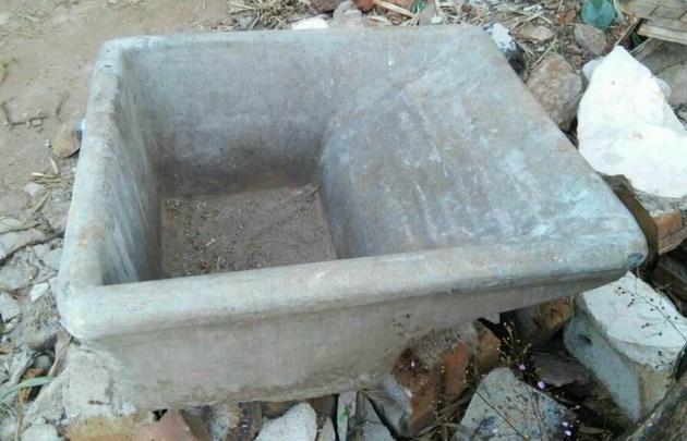 Falleci una nena aplastada por una pileta de cemento for Piletas de concreto