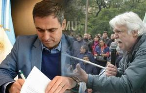 Mestre firmó un decreto para jubilar a Daniele.