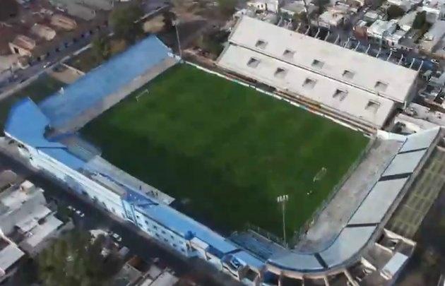 La cancha de Belgrano, cada vez más ''Gigante'' (Foto: Captura de video)