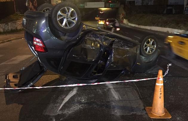 Una mujer de 33 años iba en el Citroën C3, pero no sufrió heridas de gravedad.