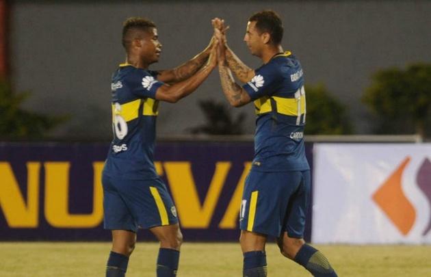Boca arrancó el semestre con una alegría en Paraguay.