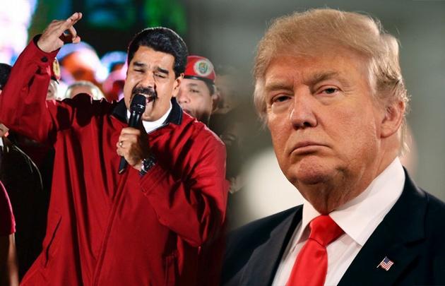 El presidente norteamericano impide el ingreso de funcionarios del regimen de Maduro.