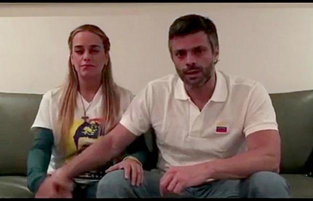 La filmación se hizo el 17 de julio cuando López estaba bajo arresto domiciliario.