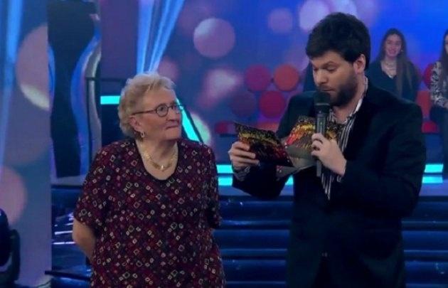 La abuela ''Chispita'' ganó el domingo en el programa de Guido Kaczka (Foto: Captura)