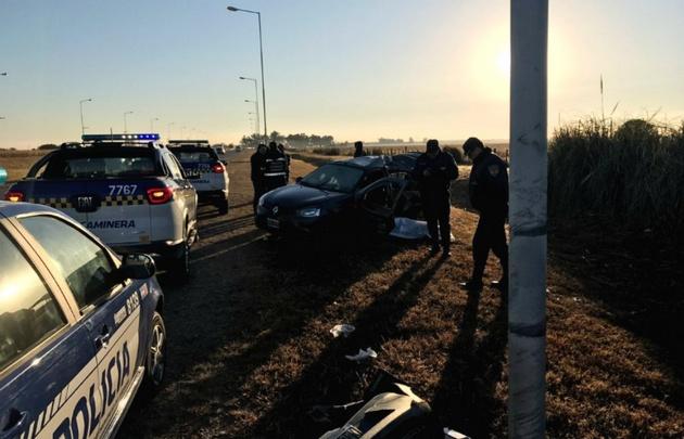 Accidente fatal en la autovía Alta Gracia - Córdoba.