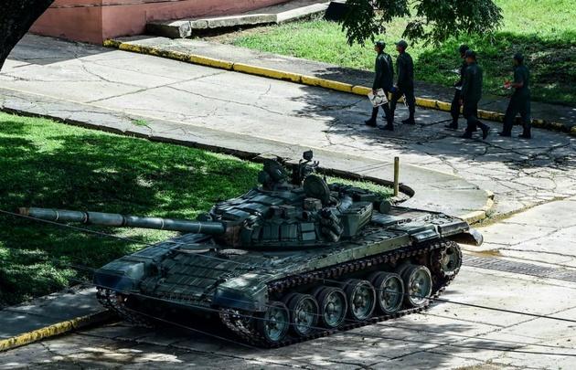 El frustrado ataque contra el régimen de Maduro fue en el Fuerte Paramacay.