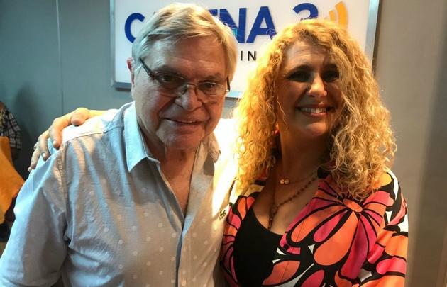 Ivana Fortunati con Rony en Viva la Radio