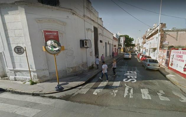 El asalto sucedió en la calle Salta al 400.